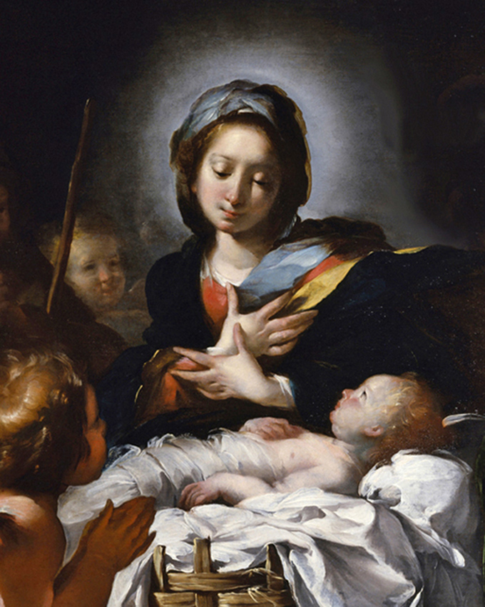 Bernardo Strozzi of Genoa, Italy - Adoration of the Shepherds, Walters Art Museum, Baltimore, Maryland, 1615.