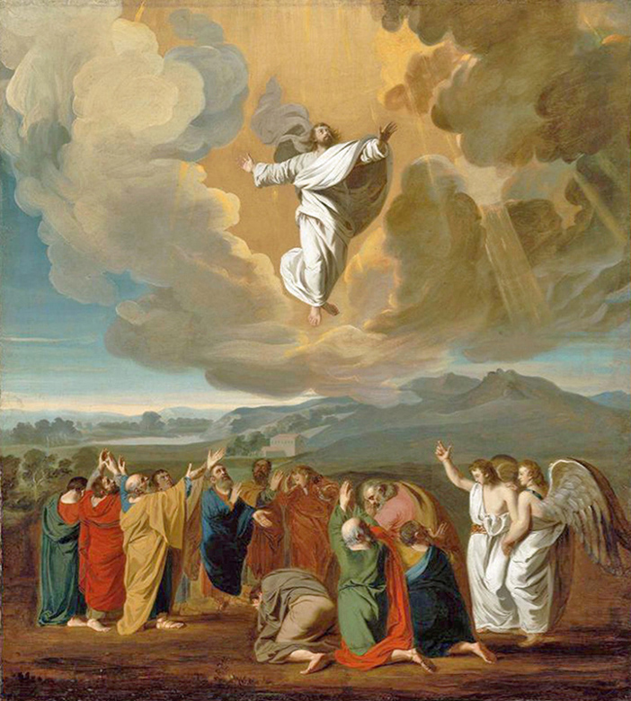 John Singleton Copley of Boston - The Ascension of Our Lord Jesus, Museum of Fine Arts, Boston, 1775.