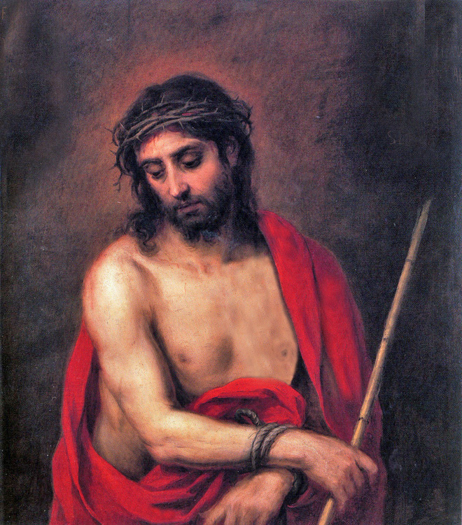 Bartolomé Esteban Murillo of Seville, Spain - Ecce Homo - Behold the Man (John 19:5), El Paso Museum of Art, 1675.