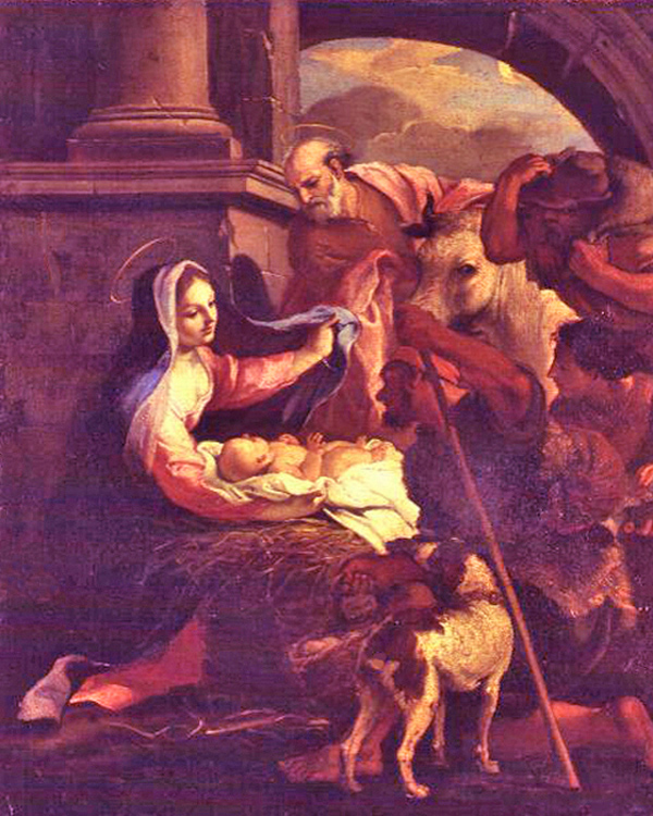 Ubaldo Gandolfi - The Nativity, Bologna, Italy, 1768.