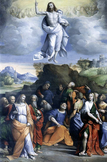 Benvenuto Garofalo - The Ascension of Our Lord into Heaven, Galleria Nazionale d'Arte Antica, Rome, 1515.
