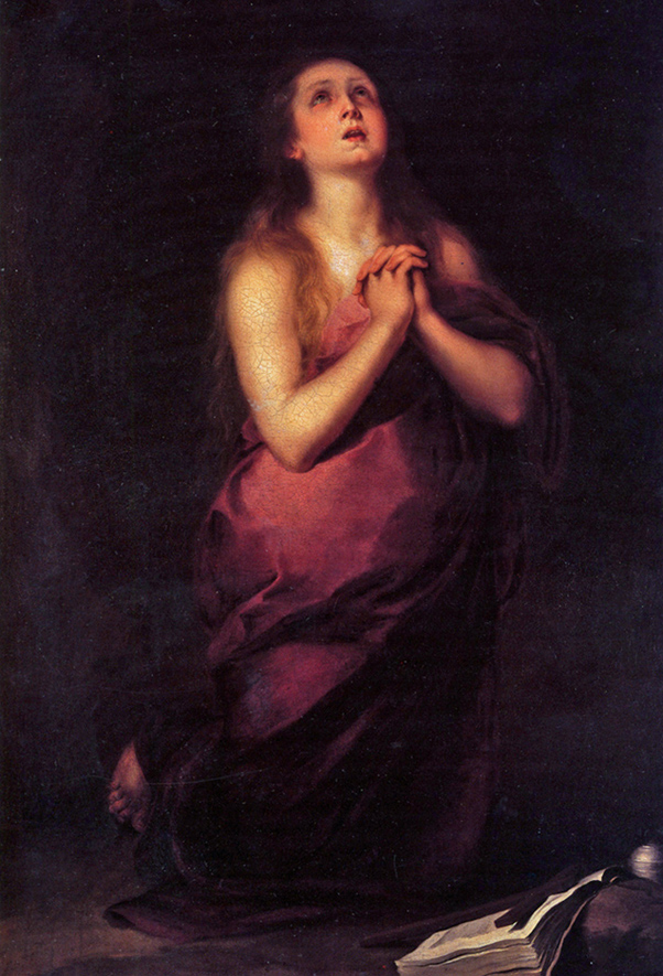 Bartolomé Esteban Murillo - The Penitent Mary Magdalene, San Diego Museum of Art, ~1655.