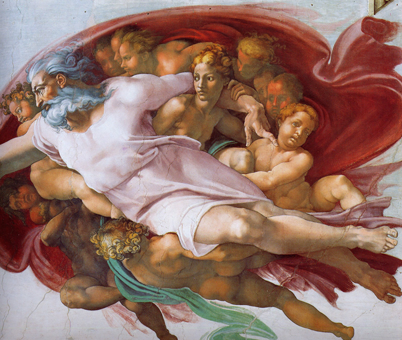 Michelangelo - The Creation, Sistine Chapel