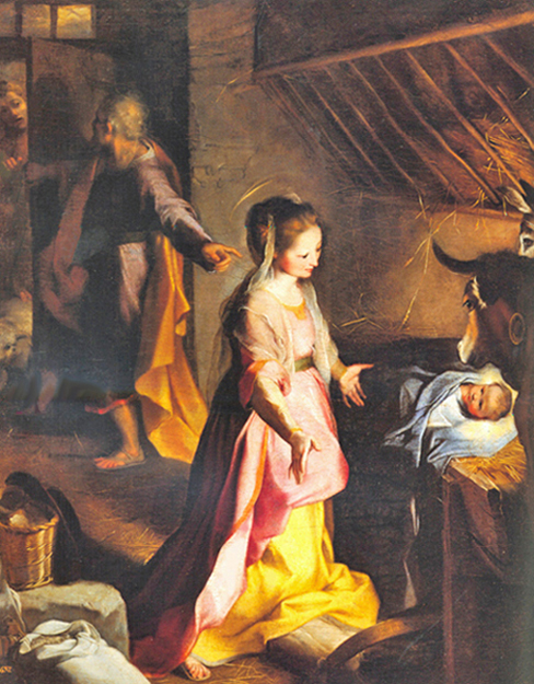 Federico Barocci - The Nativity, Museo del Prado, Madrid, 1597.