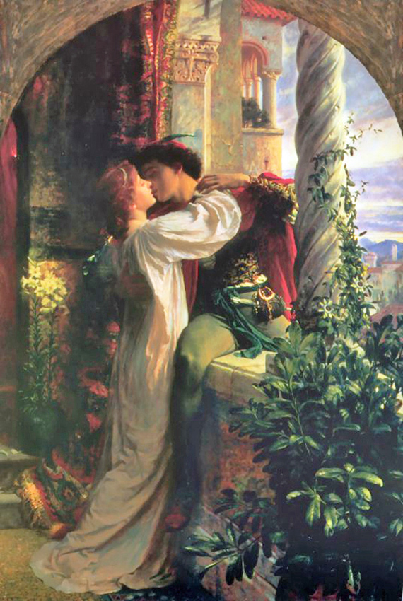 Frank Dicksee - Romeo and Juliet, London, 1899.
